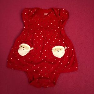 Carter's Christmas outfit
